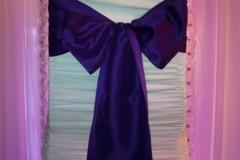 matte satin purple
