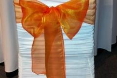 organza burndt orange