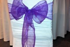organza light purple