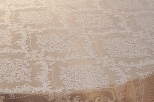 vintage lace table overlay
